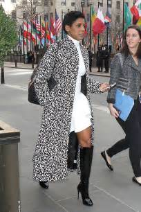 recent photos of tameron halls wardrobe on today show tamron hall leaves work in new york