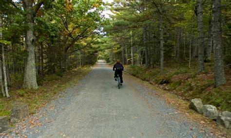 Acadia National Park Cabins Pet Friendly by Bar Harbor Mountain Biking Maine Bike Rentals Tours