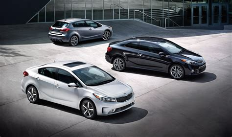 kia vehicle lineup 2017 kia forte lineup the news wheel