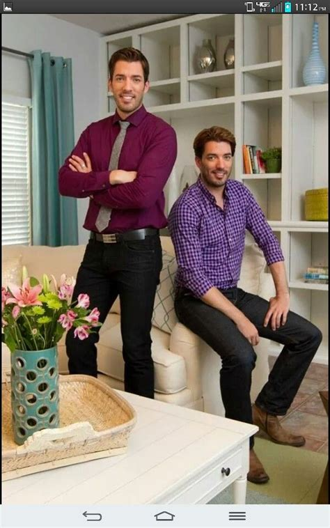 property brothers on hgtv i love pinterest gotta love this pic of drew jonathan clm drew