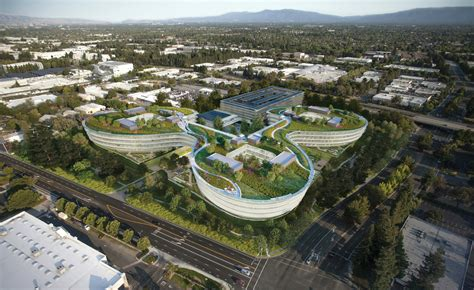 Not Another Box  Design for Apple Campus   HOK   Arch2O.com