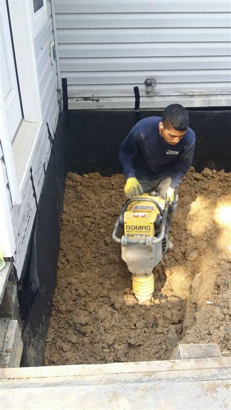wet basement solutions northern va wet basement repair