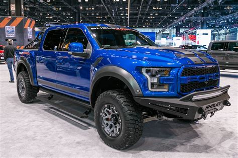 2018 ford f 150 raptor baja mileti industries 7 truck monsters from the 2018 chicago
