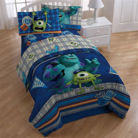 monsters university bedding comforter set sheet set and