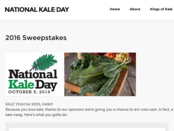 Contest Win A 1 000 Hsn Gift Card - national kale day sweepstakes