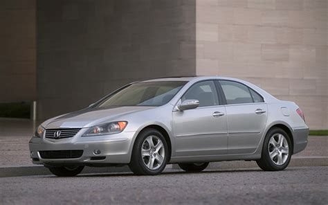 nissan acura 2005 acura rl front three quarter photo 3