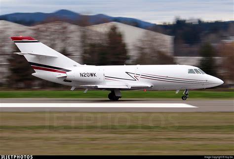 n20wk dassault falcon 20f royal air freight huy do jetphotos