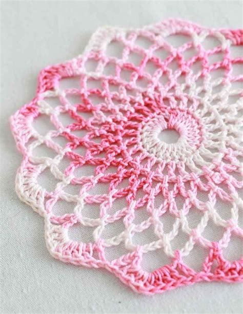 doily pattern pinterest shaded pinks doily free pattern ღtrish w http
