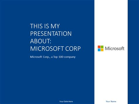 Microsoft Powerpoint Template Marine Presentationgo Com Ms Powerpoint Template