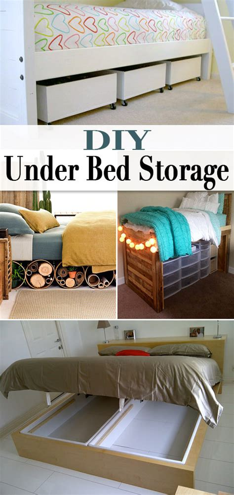 simple under bed storage budget ideas for childrens diy under bed storage the budget decorator