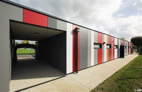 Cabinet Contres by L Atelier Architectures Et Paysages Vestiaires Du Stade