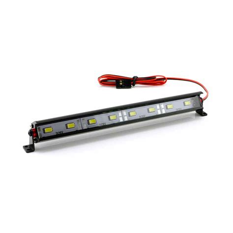 Led Light Bar Usa Hobbystar Quot Daylight Quot Aluminum 8 Led Light Bar Rc Car Crawler Scale Lightbar Usa Ebay