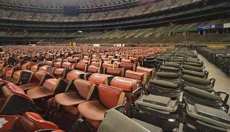 how many seats in the astrodome 10 abandoned sports stadiums crumbling arenas of the