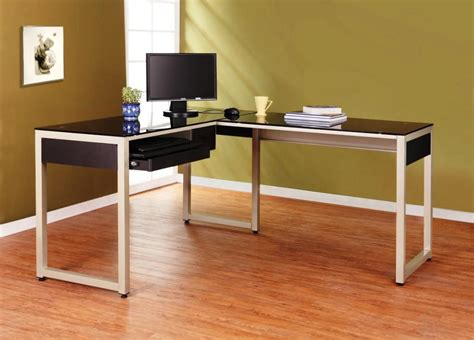 ikea computer desk hack l shaped desks marnie lshape computer desk stunning l