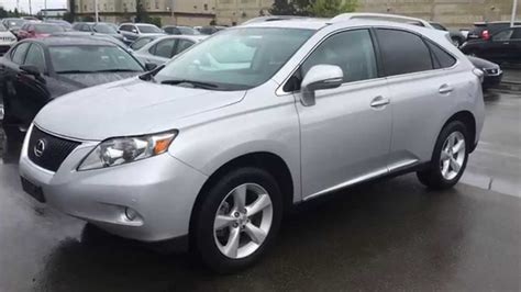 pre owned lexus rx 350 pre owned silver 2011 lexus rx 350 awd review sherwood