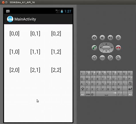 android layout xml z order sle program android gridlayout static gridlayout