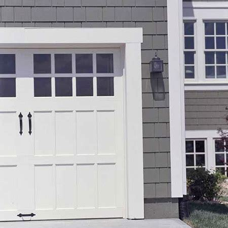Exterior Garage Door Trim Vignette Design Garage Door Inspiration Carriage Style