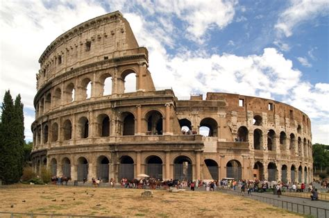 Which Civilization Made Their Buildings Out Of White Granite - was rome built in a day wonderopolis