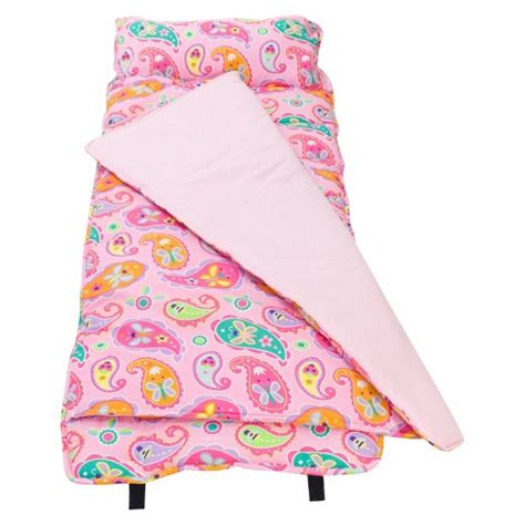 Nap Mats For Toddlers And Children by Wildkin Olive Paisley Nap Mat Target