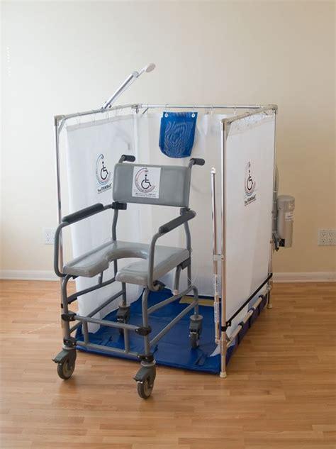 portable cing shower stall 25 best ideas about handicap shower stalls on