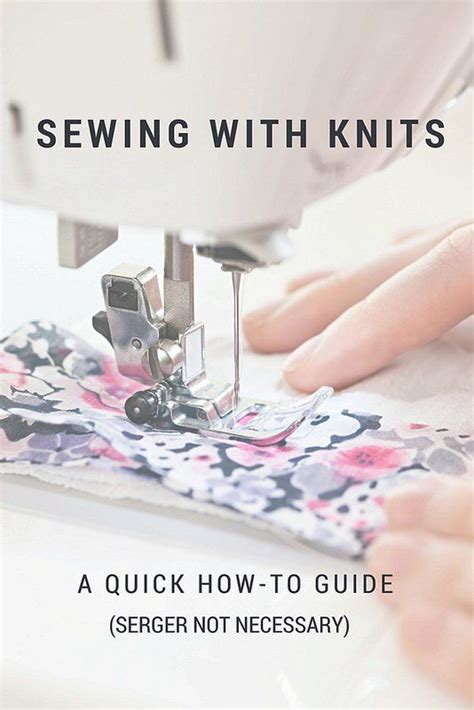 how to sew knit fabric without a serger stitch it sewing knits with or without a serger stitch