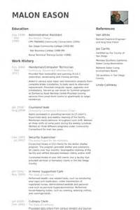 computer technician resume sles visualcv resume