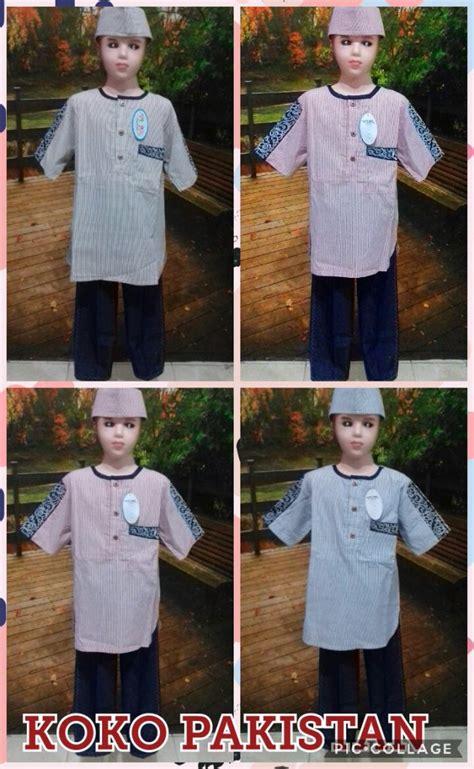 Baju Koko Anak Labella Denim No 18 grosir baju koko pakistan anak laki laki murah surabaya