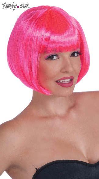 Termurah Wig Bob Pink Wig neon pink bob wig pink wigs neon bob wigs