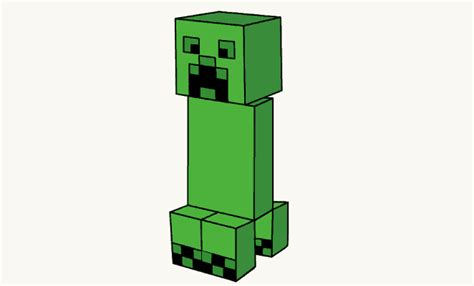 doodle draw minecraft how to draw a minecraft creeper easy step by step
