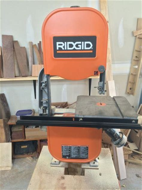 3hp ridgid bandsaw overhaul by xett lumberjocks