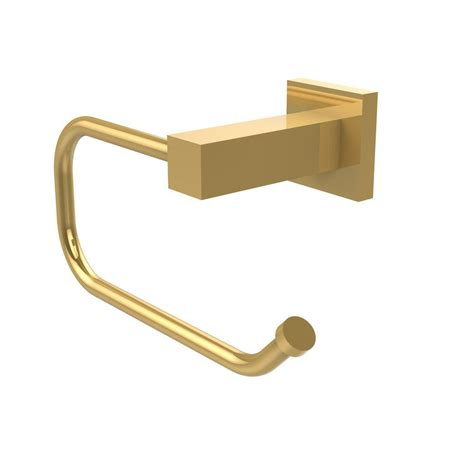 brass toilet paper holder allied brass montero collection style single post toilet paper holder in unlacquered brass