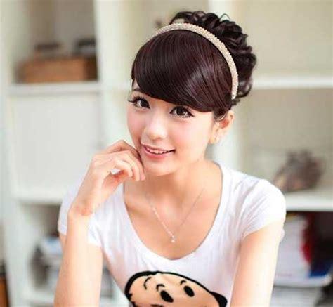 korean hairstyles buns 15 latest korean hairstyle 2014 hairstyles haircuts