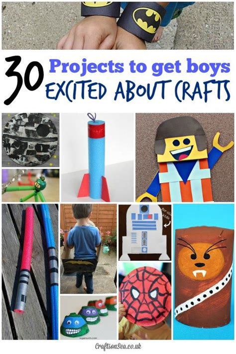craft projects for boys 30 cool craft ideas for boys minecraft crafts tmnt and
