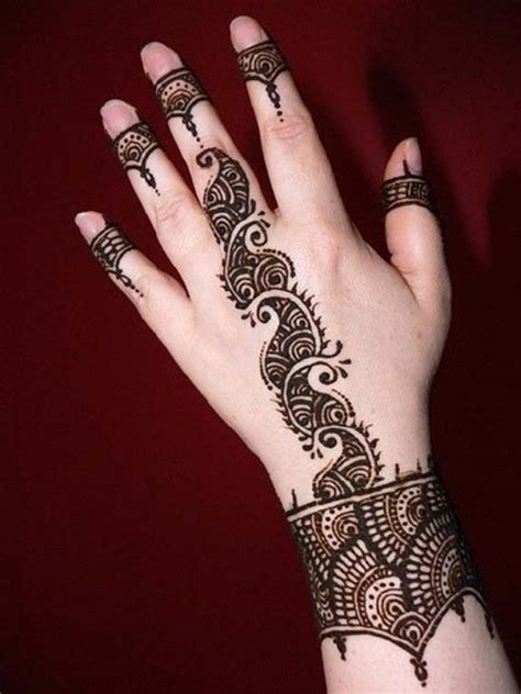 时尚个性印度海娜纹身第2页
