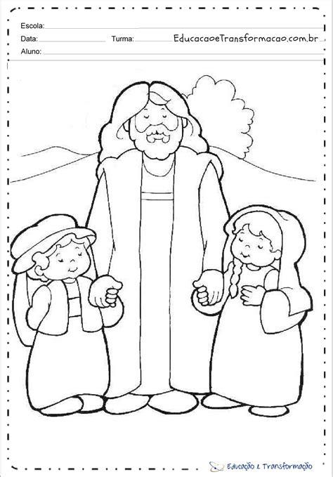 DESENHOS BÍBLICOS PARA COLORIR - Atividades Pedagógicas