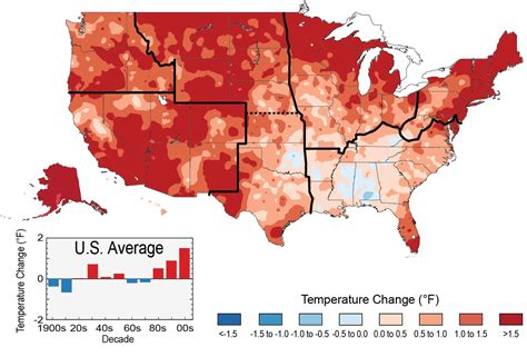 climate map of western united states our changing climate national climate assessment