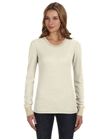 long sleeve thermal shirts for women alternative 04305eu ladies cozy long sleeve thermal shirt