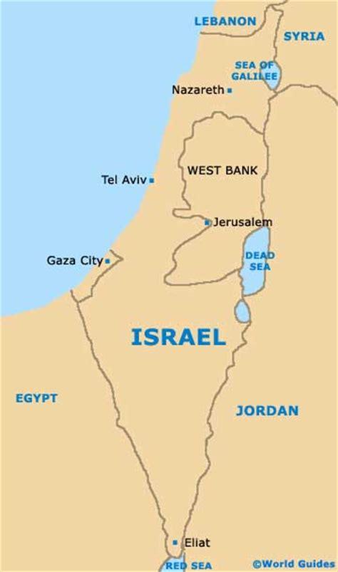 map israel jerusalem capital of israel map