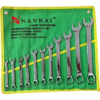 Diskon Kunci Ring Set Nankai 8 Pcs 6 22 perkakas nankai kunci ring pas set 11pc 8 24mm perkakas tool lazada indonesia