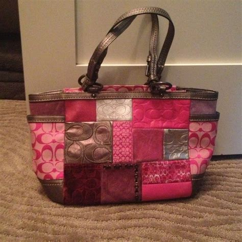 Coach Patchwork Gallery Tote - 64 coach handbags authentic coach patchwork