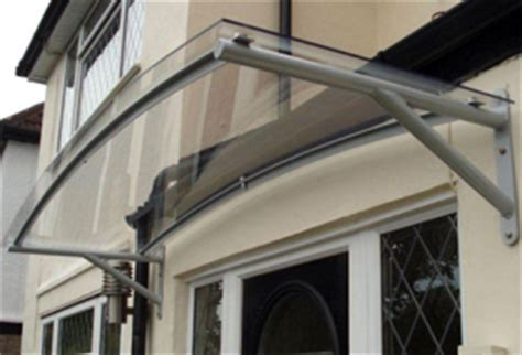 Awnings Penrith House Of Canopies Ltd Cantilever Glass Door Canopy Curved