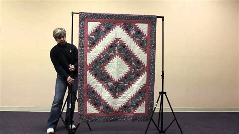 Quilt Display Stands by How To Set Up A Quilt Display Stand Original Model