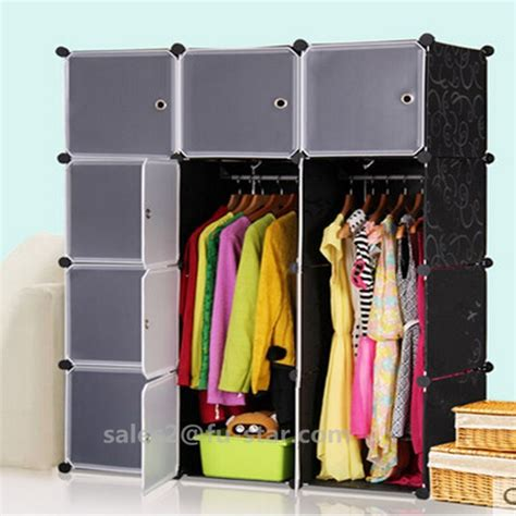 Wardrobe Storage Units by Pn Plastic Wardrobe Shelf Bedroom Storage Units Storage Cloth Boxes Removable Door Plastic