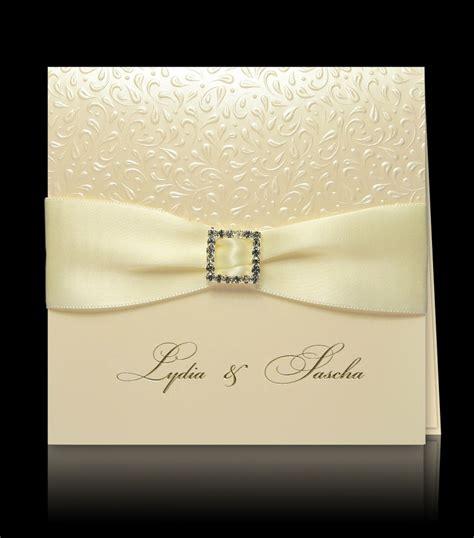 Exklusive Hochzeitseinladungen by Exklusive Hochzeitskarten Drucken Lassen Pamas