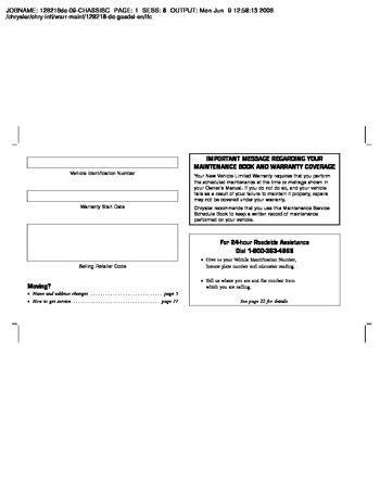 car repair manuals online pdf 2009 dodge ram 1500 parking system 2009 dodge ram 2500 owner s manual pdf 113 pages