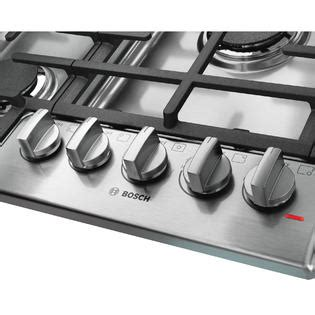 bosch ngm8055uc 30 inch gas bosch ngm8055uc 30 quot 800 series gas cooktop stainless steel