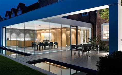 modern kitchen extensions ideas for home garden bedroom kitchen homeideasmag com 10 striking glass extension designs real homes