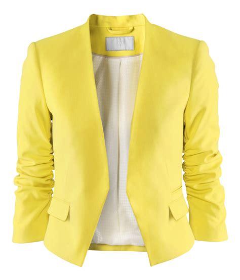 Jaket Yellow yellow blazer jacket fashion ql