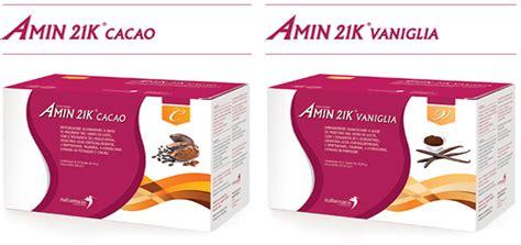 liposuzione alimentare controindicazioni amin 21 k cacao e amin 21 k vaniglia 2 nuovi gusti