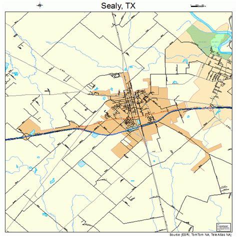 sealy texas map sealy texas map 4866464